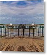 Vacation Reflection Metal Print