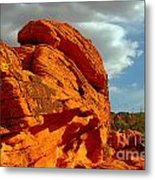 Valley Of Fire - Born To Be Wild Metal Print by Christine Till