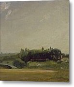 View Towards The Rectory - East Bergholt Metal Print
