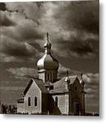 Vintage Church Metal Print