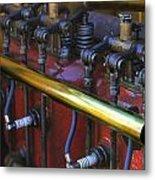 Vintage Combustion Engine Metal Print by Scott Hovind