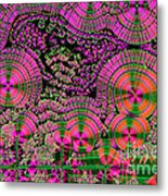 Vitamin C Crystals Spikeberg Metal Print by M I Walker