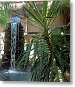 Waterfall Metal Print by Juliana  Blessington