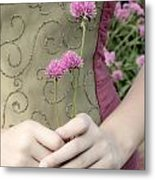 Where Have All The Flowers Gone Metal Print by Angelina Vick