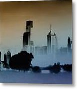 While The City Sleeps Metal Print by Bill Cannon