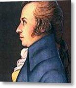 Wolfgang Amadeus Mozart Metal Print by Granger