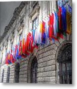 World Flags Metal Print