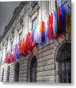 World Flags Metal Print by Barry R Jones Jr