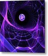 Wormhole Metal Print by Pam Blackstone