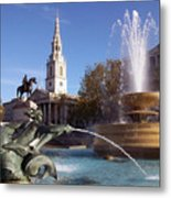 London - Trafalgar Square  Metal Print