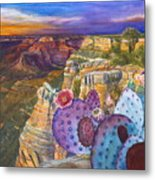 South Rim Wonders Metal Print