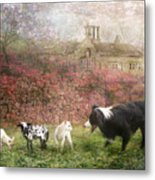 The Babysitter Metal Print by Trudi Simmonds