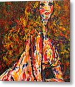 The Wild Woman Metal Print