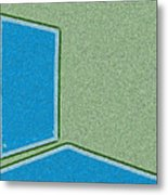 Window In The Empty Room 2-1 Metal Print
