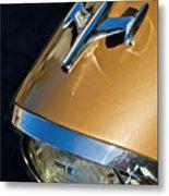 1957 Oldsmobile Super 88 Hood Ornament Metal Print