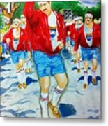 610 Stompers Metal Print by Terry J Marks Sr