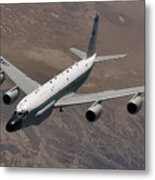 A U.s. Air Force Rc-135 Rivet Joint Metal Print