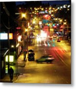 Abbotsford Lights 05 Metal Print