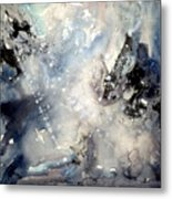 Abstract Expressive 009 Metal Print
