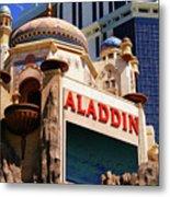 Aladdin Hotel Casino Metal Print
