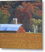 Autumn Of Our Father's Metal Print