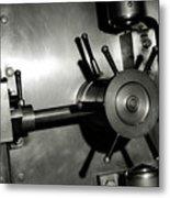 Bank Vault Metal Print