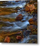 Bear Creek Waterfalls Metal Print