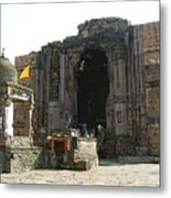 Bhojpur Temple Metal Print