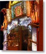 Brewery Gulch Color In Bisbee Metal Print
