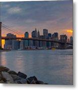 Brooklyn Sunset Metal Print