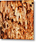 Burnt Rocks Metal Print