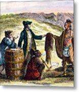 Canada: Fur Traders, 1777 Metal Print