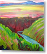 Canyon Dreams 8 Metal Print