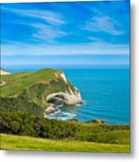 Cape Farewell Able Tasman National Park Metal Print