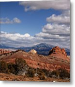 Capitol Reef National Park Burr Trail Metal Print