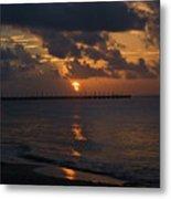 Caribbean Early Sunrise Metal Print