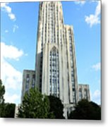 Cathedral Of Learning Metal Print by Thomas R Fletcher