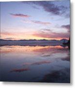 Cerknica Lake At Dawn Metal Print