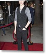 Chris Colfer At Arrivals For American Metal Print