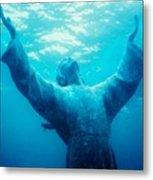 Christ At Sea Metal Print