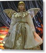 Christmas-angel Metal Print