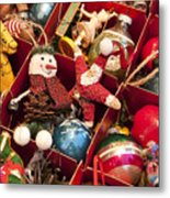 Christmas Ornaments Metal Print