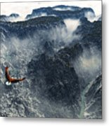 Cloud Canyon Metal Print