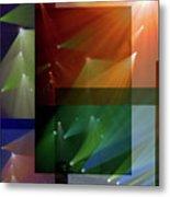 Coloured Lights II Metal Print