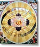 Copernican Universe, 1660 Metal Print