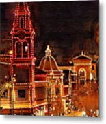 Country Club Plaza Lights Kansas City Missouri Metal Print