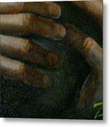 Detail - Temptation Of Christ Metal Print