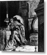 Dor�: The Raven, 1882 Metal Print