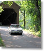 Driving In Style Metal Print
