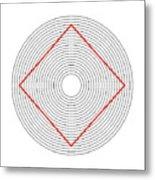 Ehrenstein Illusion Metal Print